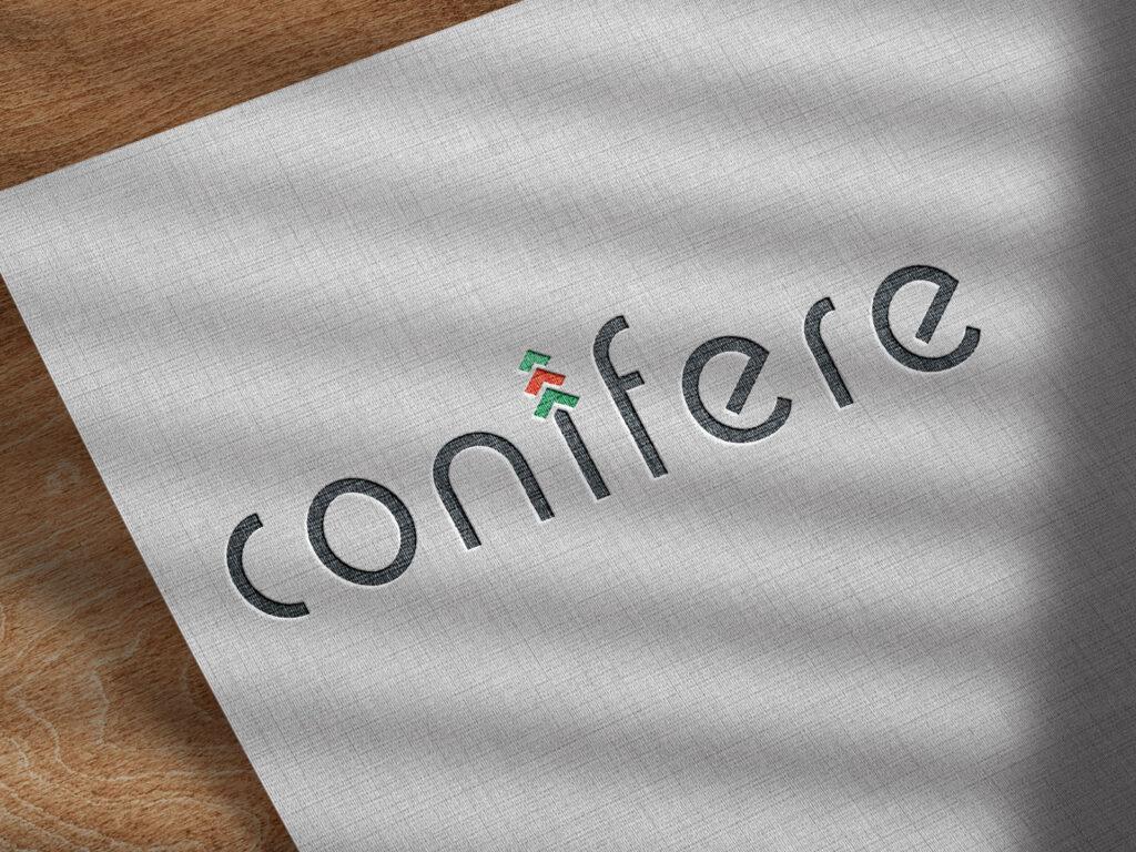 Conifere - Wortmarke - Logo