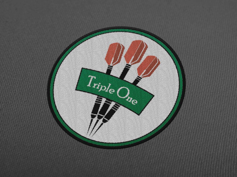 Triple One Dartsclub Logodesign