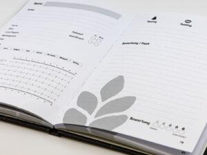 Tastingnotes - Whisky Tagebuch - Printdesign, Buch, Druck - Innenseiten